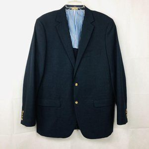 Brooks Brothers Fitzgerald Navy Blue Blazer 44L